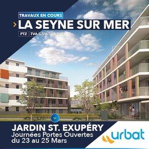 83 - LA SEYNE-SUR-MER : Jardin Saint Exupéry - Journées Découverte du 23 au 25 Mars