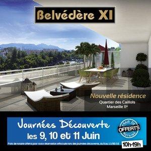 13 - MARSEILLE 11�me : Belv�d�re XI - Journ�es D�couverte du 9 au 11 Juin