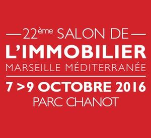 13 - MARSEILLE : Salon de l'Immobilier de Marseille du 7 au 9 Octobre