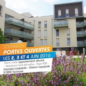 31 - TOULOUSE : Carr� Bonnefoy - Journ�es Portes Ouvertes du 2 au 4 Juin