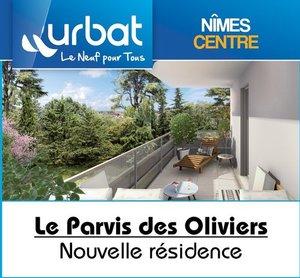 30 - N�MES : Le Parvis des Oliviers - Nouveau � Puech du Teil