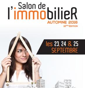 34 - MONTPELLIER : Salon de l'Immobilier de Montpellier du 23 au 25 Septembre