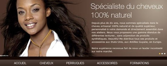 Boutique en ligne Beautiful Me