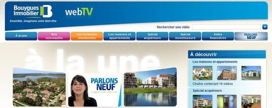 Web TV Bouygues Immobilier