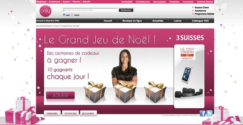 Poisson bouge nantes grand jeu de no l only et outremer telecom - Www 3 suisses fr ...