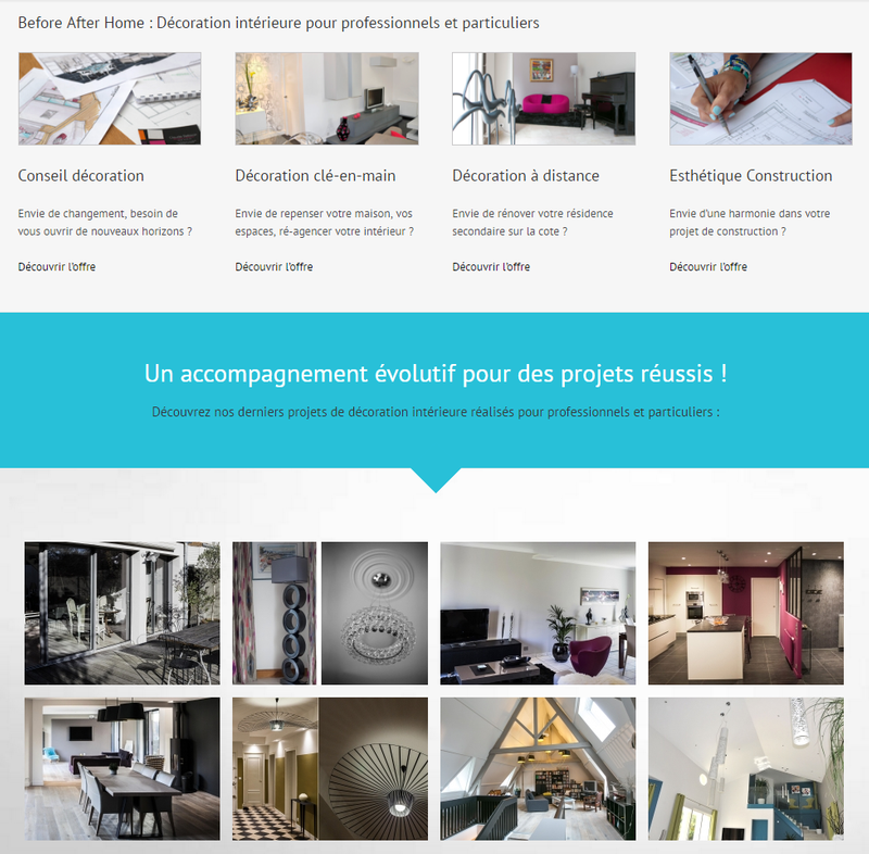 Site web de before after home