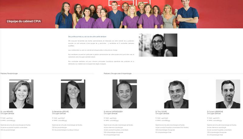 Poisson Bouge - Nantes   Un site web pour le Cabinet CPIA - Cabinet CPIA edbb3b7caba2