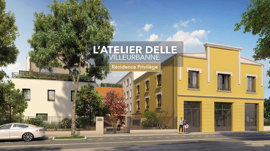 69 - Villeurbanne : Résidence L'Atelier Delle