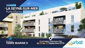 LA SEYNE-SUR-MER - Résidence URBAT Terre Marine II : Journées Découverte du 20 au 22 Septembre.