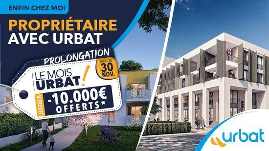 PROLONGATION jusqu'au 30 Novembre : OFFRE Le Mois Urbat