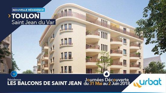 83 - TOULON: Les Balcons de Saint-Jean - Journées Découverte du 31 mai au 02 juin