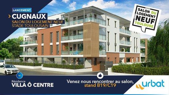 CUGNAUX : Lancement nouvelle résidence au Salon du Logement Neuf à Toulouse